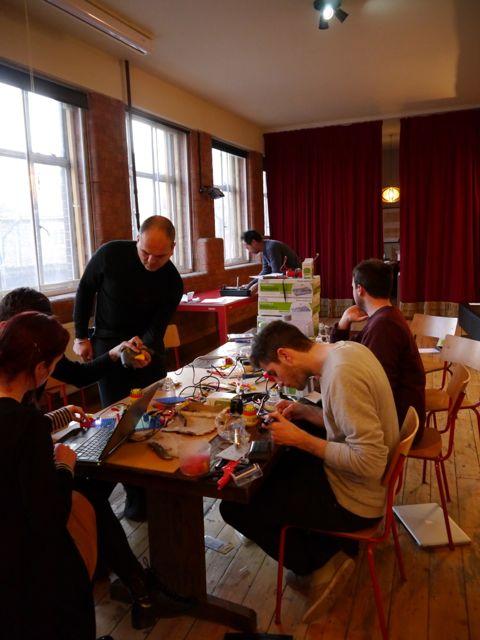 Shoestring Lab workshop, MadLab's Lab Easy, 2013