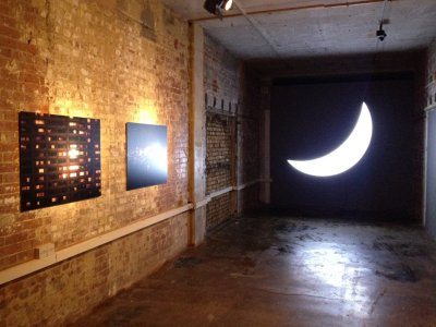 Leonid Tishkov, Private Moon (installation view), RotM 2014