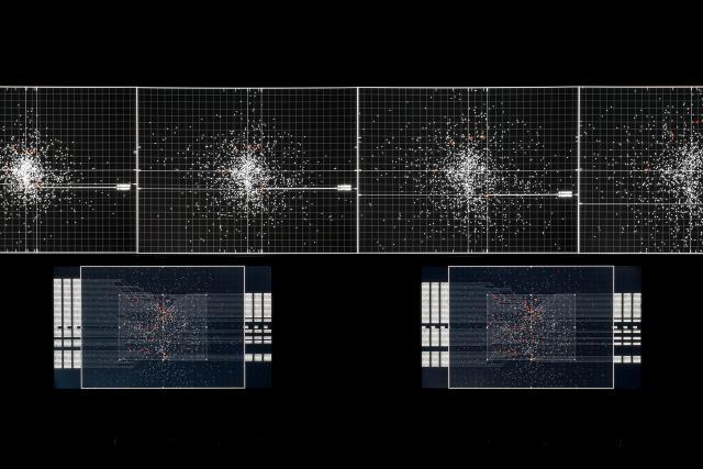 Ryoji Ikeda, Supersymmetry, 2015