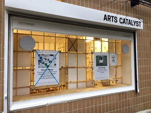 Arts Catalyst Centre for Art, Science & Technology, London. Photo: Alec Steadman