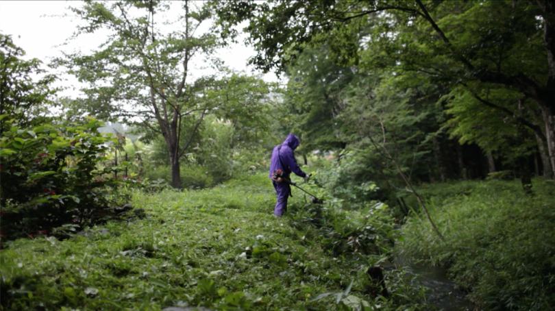 Fukushima exclusion zone, film still from Project Fukushima by Hikaru Fujii (2011)